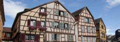 Maisons alsaciennes à colombages - place de l